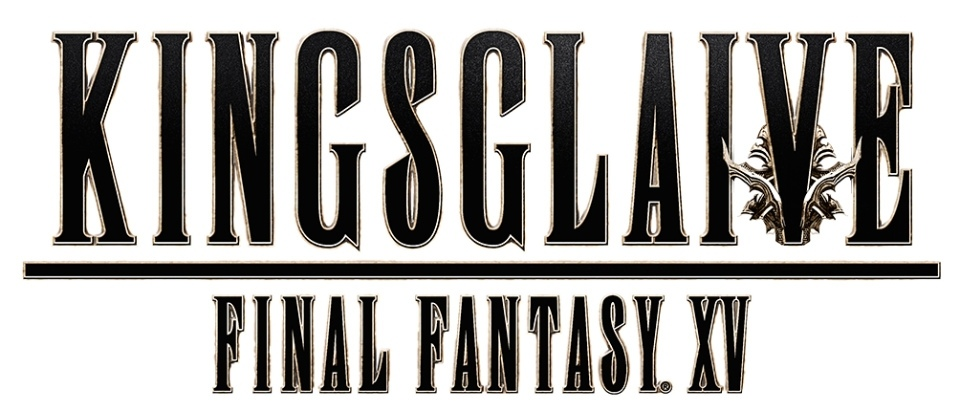 Final Fantasy XV Kingsglaive Logo Blanc