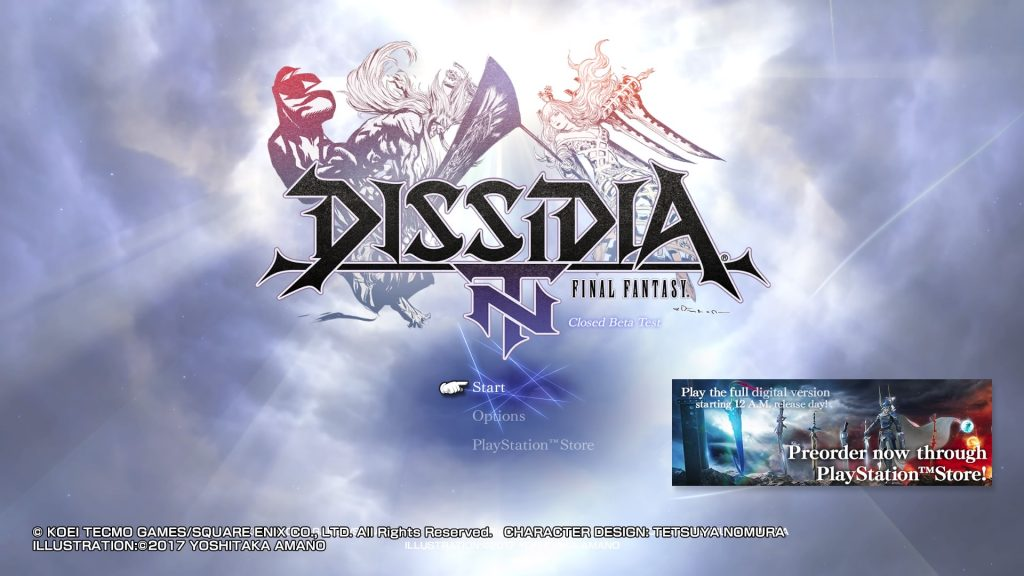 DISSIDIA FINAL FANTASY NT Closed Beta Test_20170825224650