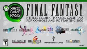Final Fantasy Game Pass